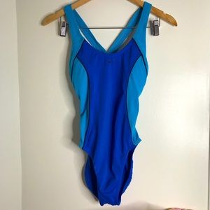 Nike one piece swimsuit blue **see measurements
